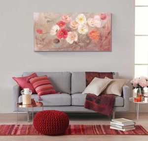 TABLOU CANVAS WILD POPPIES, 50x100 CM - TABLOU CANVAS WILD POPPIES, 50x100 CM