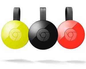 GOOGLE CHROMECAST 2.0 HDMI STREAMING MEDIA PLAYER - GOOGLE CHROMECAST 2.0 HDMI STREAMING MEDIA PLAYER