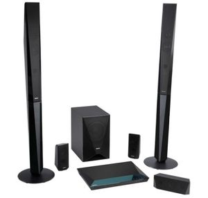 SISTEM HOME CINEMA 5.1 CU BLU-RAY 3D SONY BDVE4100 - SISTEM HOME CINEMA 5.1 CU BLU-RAY 3D SONY BDVE4100