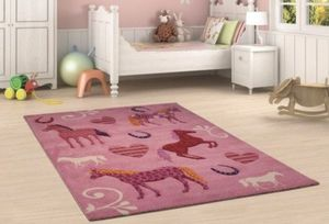 COVOR MERINOS KIDS, MODEL CABALIN, 120x170 CM - COVOR MERINOS KIDS, MODEL CABALIN, 120x170 CM