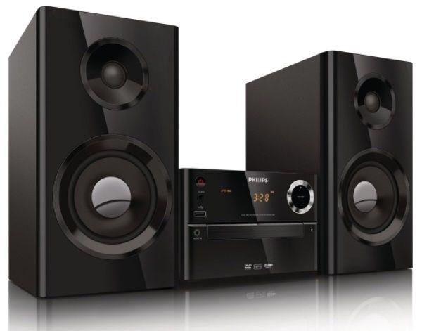 MINISISTEM AUDIO PHILIPS MCD2160-12, CD PLAYER, TUNER FM, USB